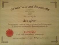 Jane Certificate
